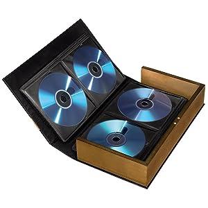 Hama Cd Ordner Für 56 Cds Dvds Blu Rays Stabile Konstruktion