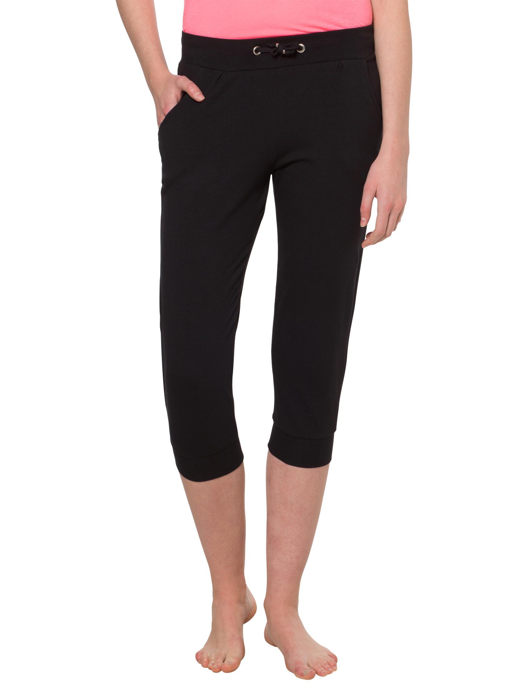 Ultrasport Damen Yogahose Vitalize - Yoga Capri Leggings