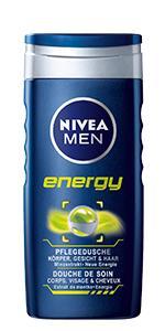 NIVEA MEN ENERGY PFLEGEDUSCHE