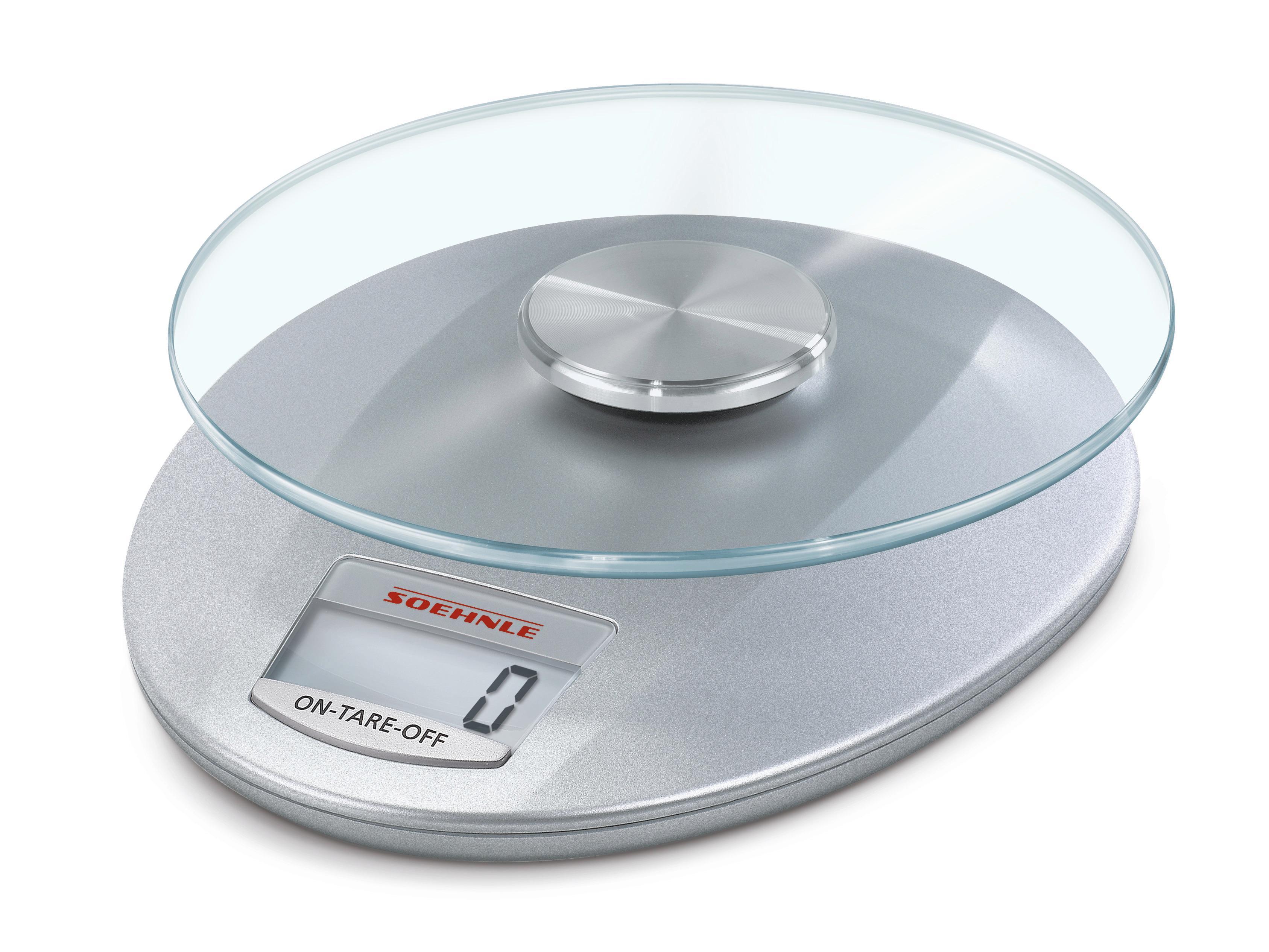 Soehnle 65856 Digitale Küchenwaage Roma silver: Amazon.de: Küche ...