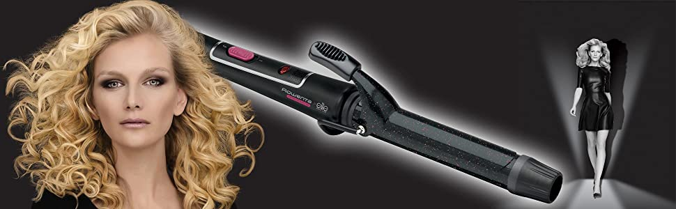 Rowenta Elite Model Look Cf 2112 Locken Frisier Mit Frisierzange