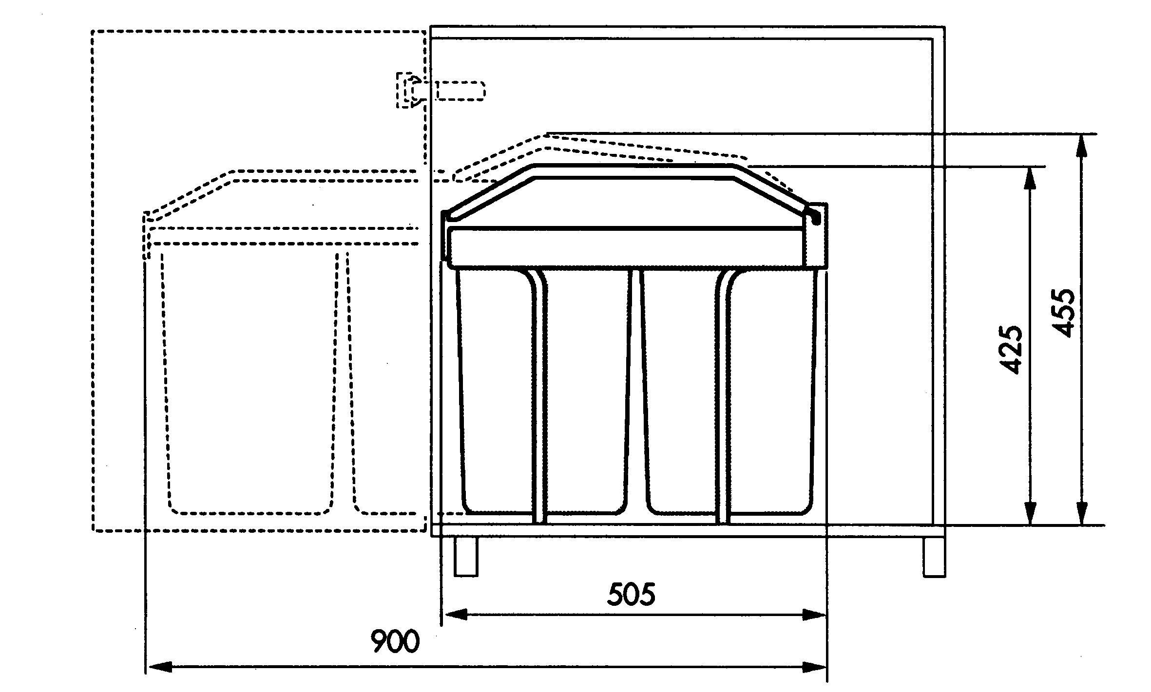Mülltrenner Küche war beste design für ihr wohnideen