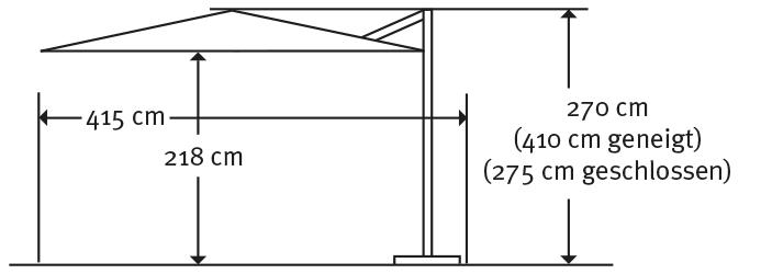 schneider sonnenschirm barbados rot 350 cm rund gestell aluminium bespannung. Black Bedroom Furniture Sets. Home Design Ideas