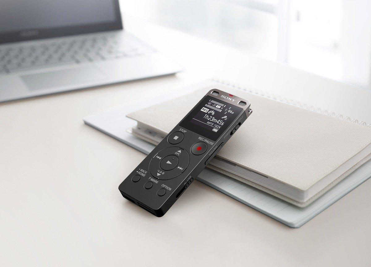 Sony ICD-UX560 Diktiergerät (4GB Speicher, externer Micro