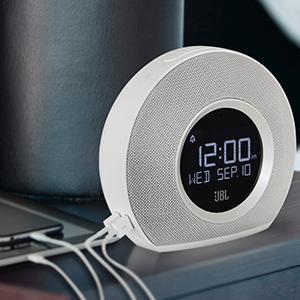 jbl horizon wireless bluetooth radiowecker mit 2 weckern. Black Bedroom Furniture Sets. Home Design Ideas