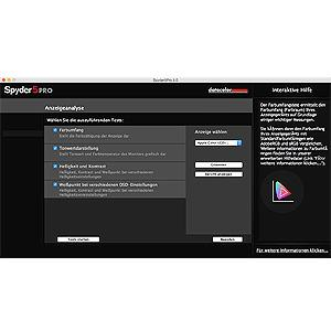 Screenshot Bildschirmanalyse