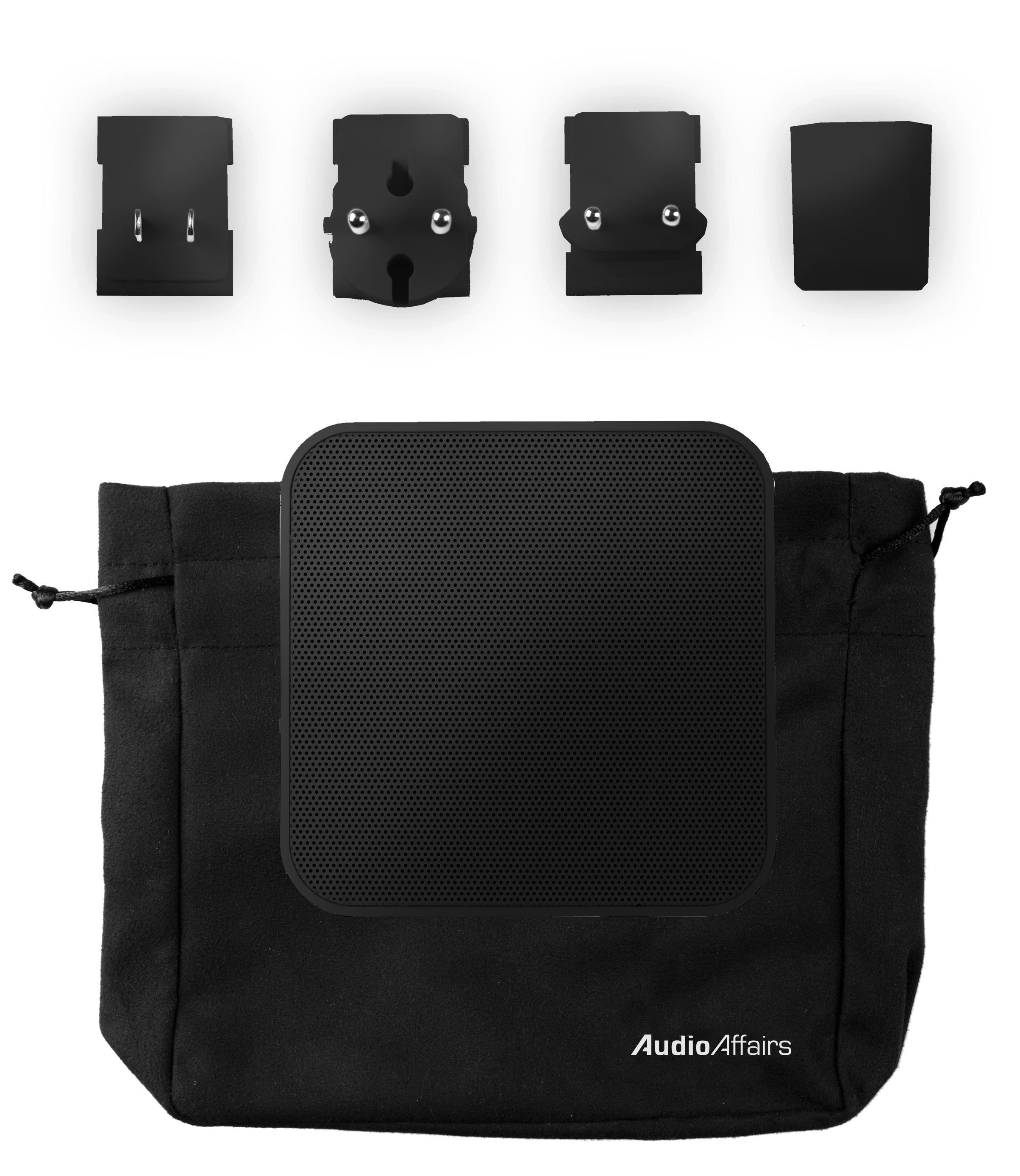 audioaffairs steckdosenradio in schwarz plug radio inkl. Black Bedroom Furniture Sets. Home Design Ideas