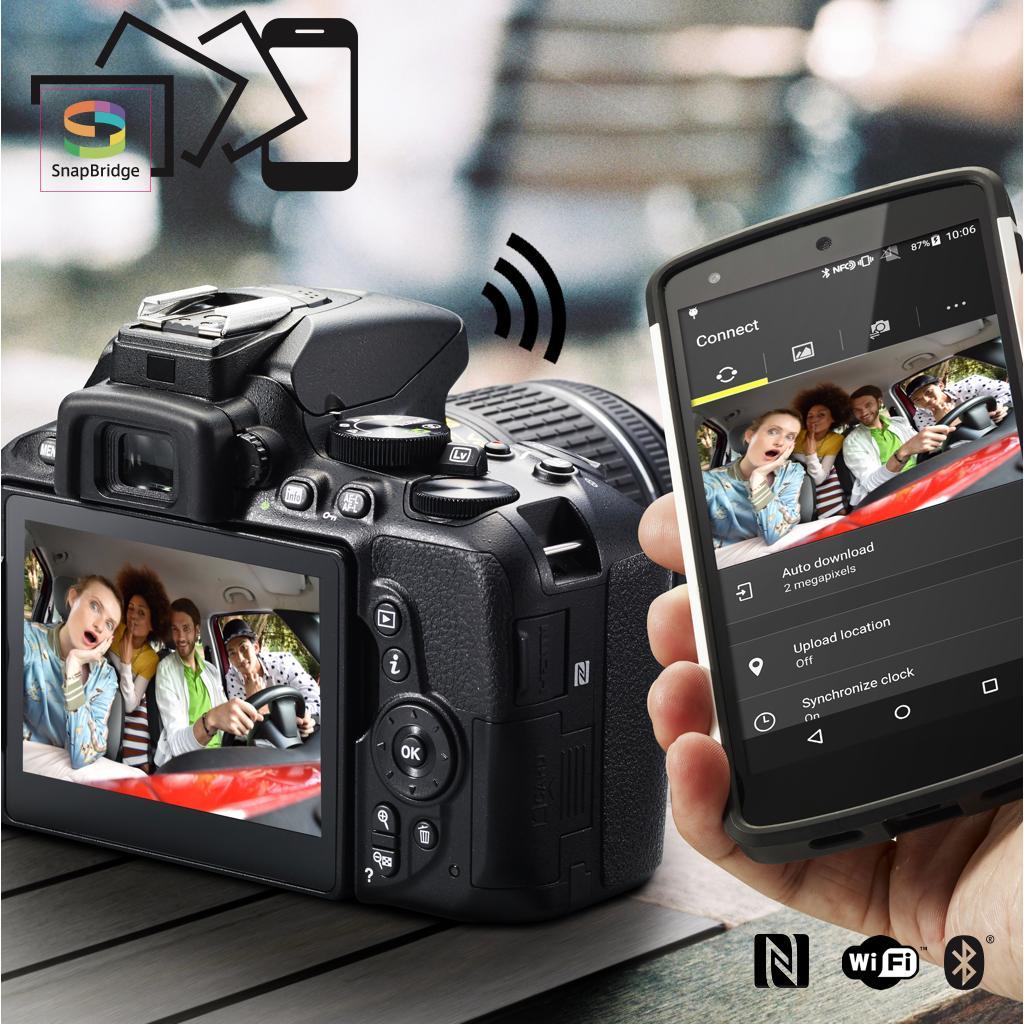 Nikon D5600 mit App-Steuerung