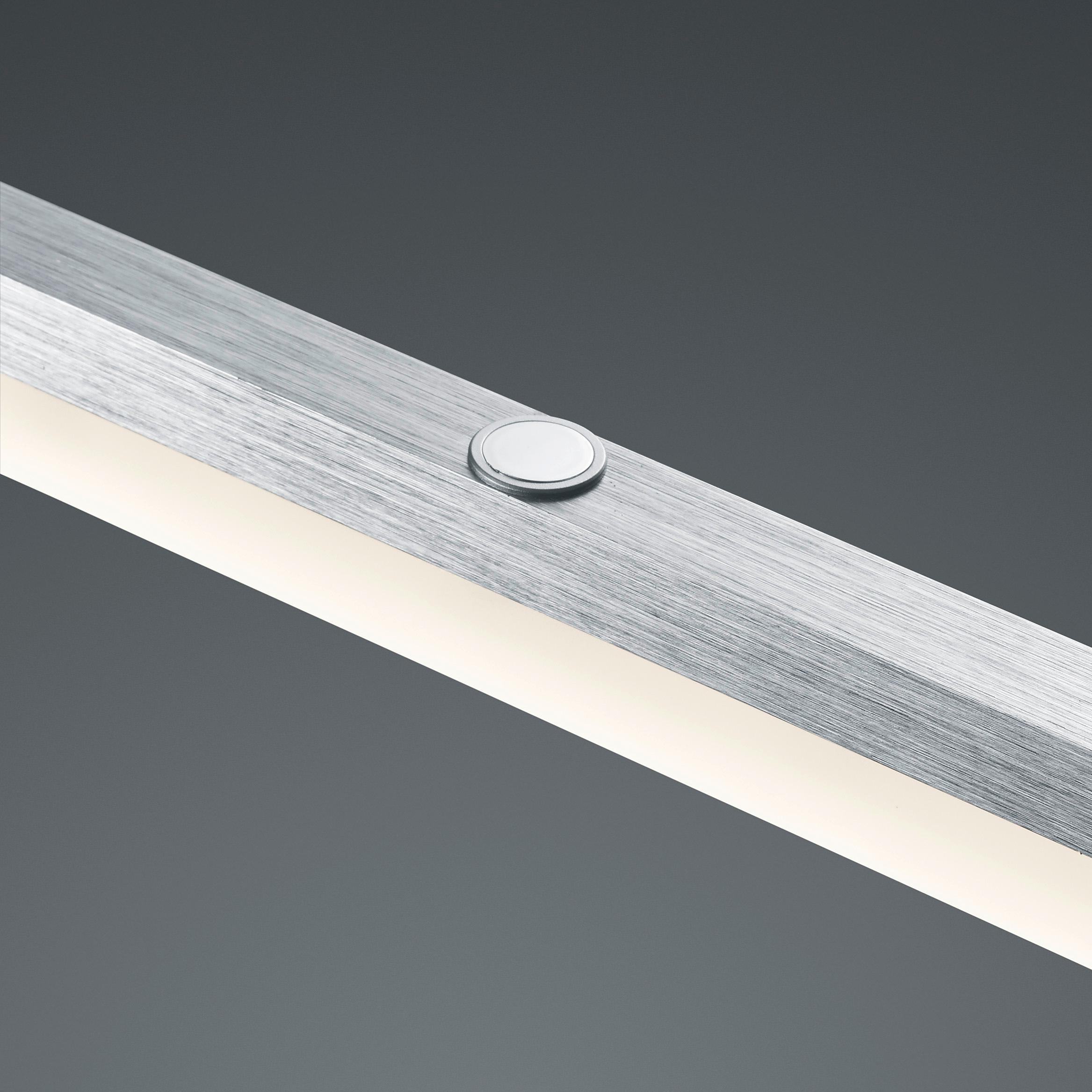 trio leuchten led jojo pendelleuchte calvaro aluminium gebr stet acryl wei 377690105 amazon. Black Bedroom Furniture Sets. Home Design Ideas
