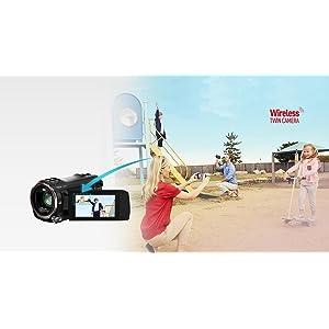 (Fügen Sie eine Überschrift hinzu) Wireless Twin Camera