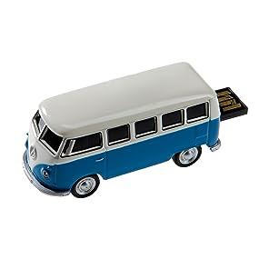 autodrive vw bus t1 8 gb usb stick usb 2 0 blau weiss. Black Bedroom Furniture Sets. Home Design Ideas