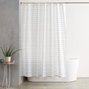 amazonbasics duschvorhang stoff bedruckt 180 x 200 cm. Black Bedroom Furniture Sets. Home Design Ideas