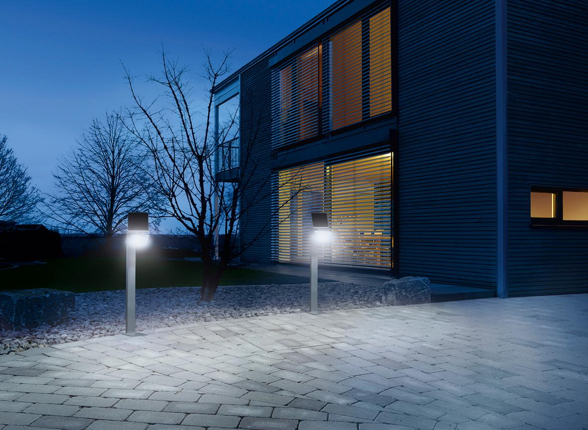 steinel led solarleuchte xsolar gl s wei. Black Bedroom Furniture Sets. Home Design Ideas