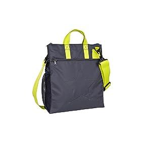 l ssig casual buggy bag organizer kinderwagenorganizer tasche inkl stroller hooks star ebony. Black Bedroom Furniture Sets. Home Design Ideas