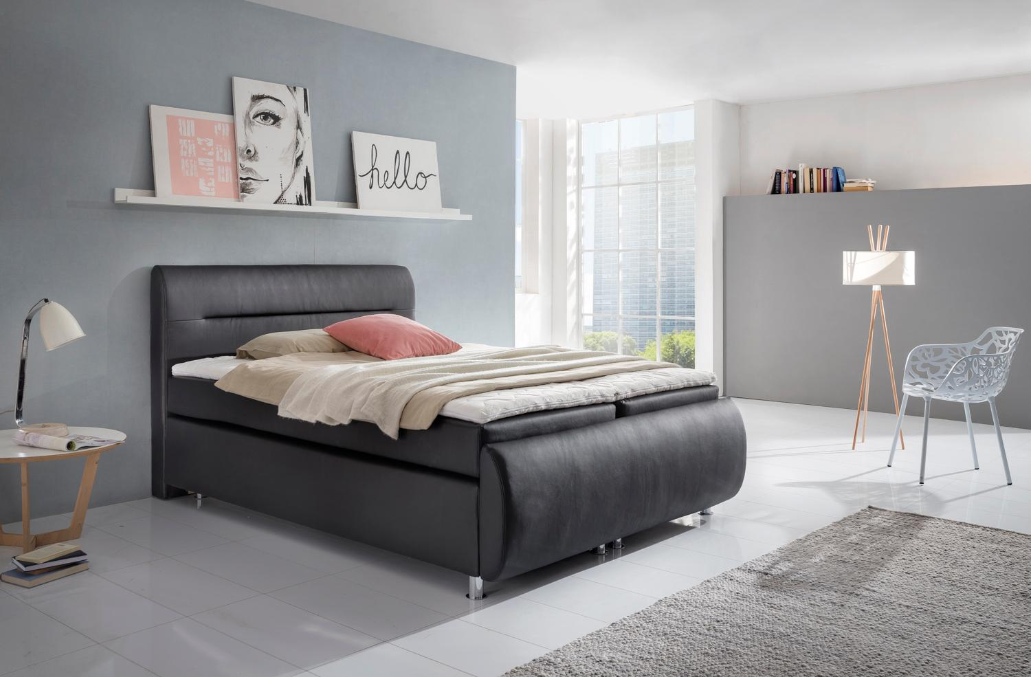 boxspringbett selber zusammenstellen wunderbar. Black Bedroom Furniture Sets. Home Design Ideas