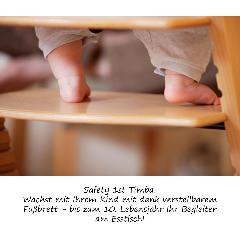 Safety 1st Timba U2013 Extragroßer Hochstuhl Mit Sitzpolster