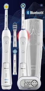Braun Oral-B PRO 6500 elektrische Premium-Zahnbürste
