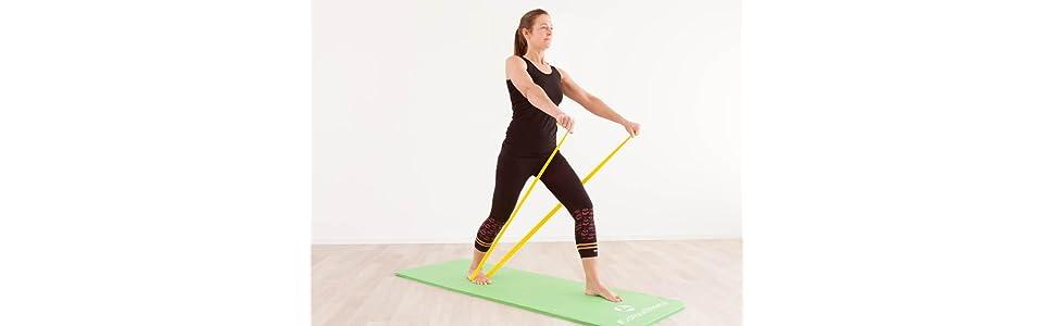 Stretchband Gymnastikband pilatesband flossband loopband powerband