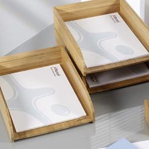 rexel bambus ablagekorb b robedarf schreibwaren. Black Bedroom Furniture Sets. Home Design Ideas