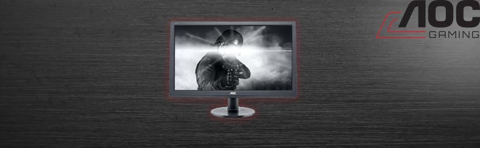 aoc e2460sh 60 96 cm monitor schwarz computer zubeh r. Black Bedroom Furniture Sets. Home Design Ideas