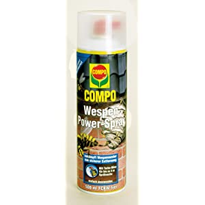 compo wespen power spray insektizid gegen wespennester. Black Bedroom Furniture Sets. Home Design Ideas