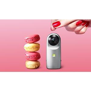 kugelförmige Pocketkamera
