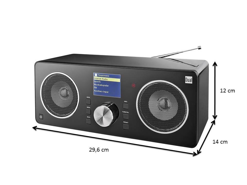 dual radiostation ir 8s digitalradio im hochglanzgeh use. Black Bedroom Furniture Sets. Home Design Ideas