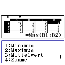 bild Tabellenkalkulation