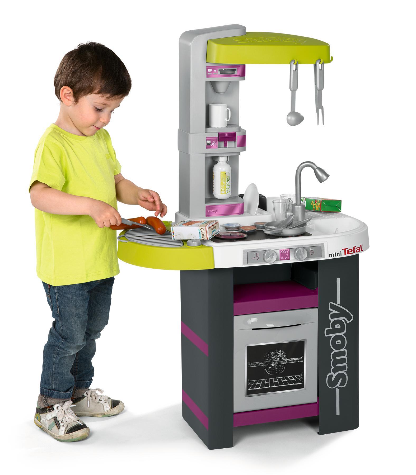 smoby 24128 - tefal studio küche barbecue: amazon.de: spielzeug - Smoby Küche Tefal