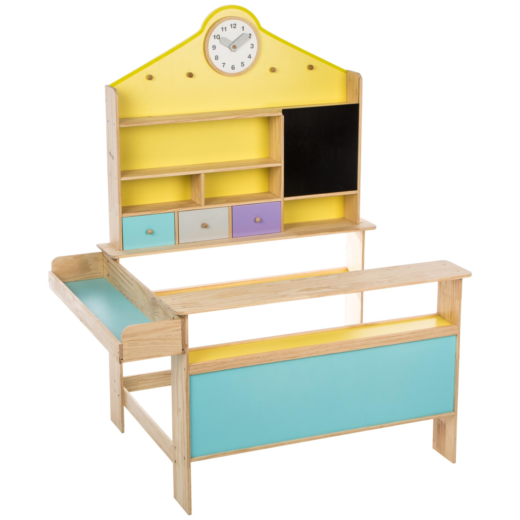 ultrakidz kaufladen aus massivem holz spielzeug. Black Bedroom Furniture Sets. Home Design Ideas