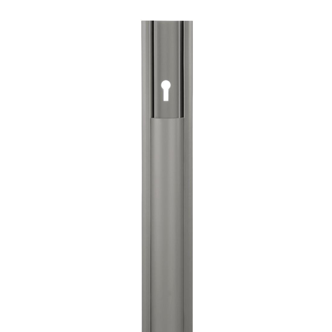 hama pvc kabelkanal halbrund selbstklebend 100 x 3 5 x 0 9 cm bis zu 2 kabel grau 00020616. Black Bedroom Furniture Sets. Home Design Ideas