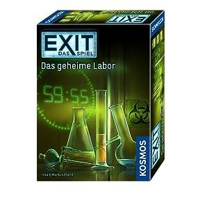 Produktabbildung EXIT - Das geheime Labor