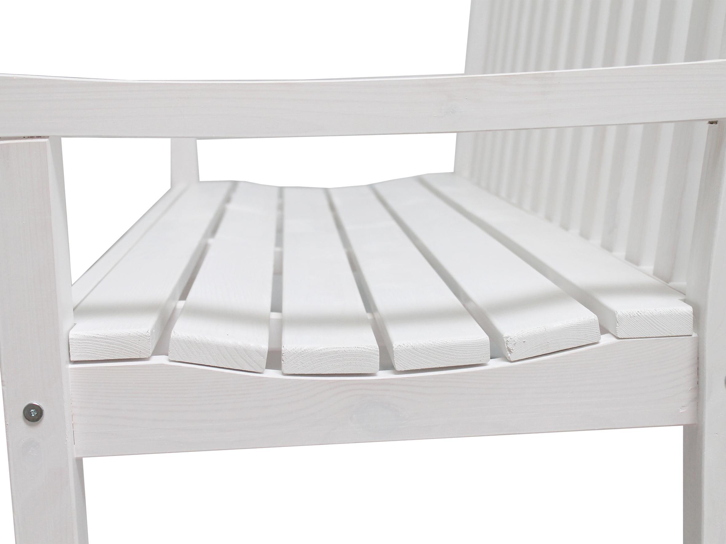 Frisch Gartenbank Kunststoff Weiß Design