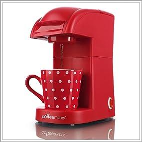 tv unser original 05306 coffeemaxx single kaffeepadmaschine. Black Bedroom Furniture Sets. Home Design Ideas