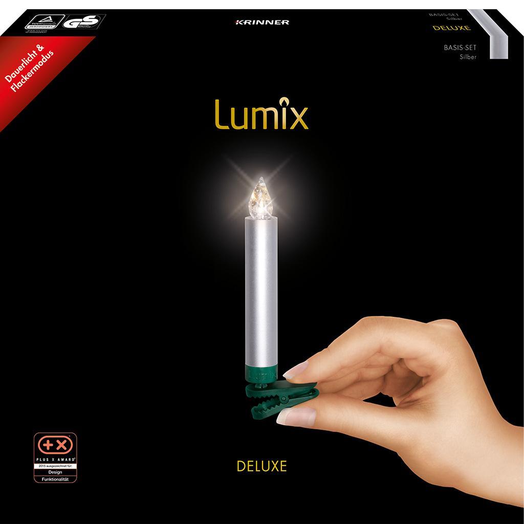 Lumix deluxe kabellose led christbaumkerzen basis set for Christbaumkerzen kabellos lumix