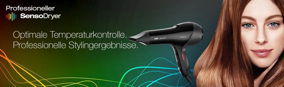 Braun Satin Hair 7 HD 780 Haartrockner (Professional SensoDryer mit Wechselstrommotor)