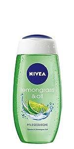 NIVEA Pflegedusche Lemongrass & Oil (Duschgel)