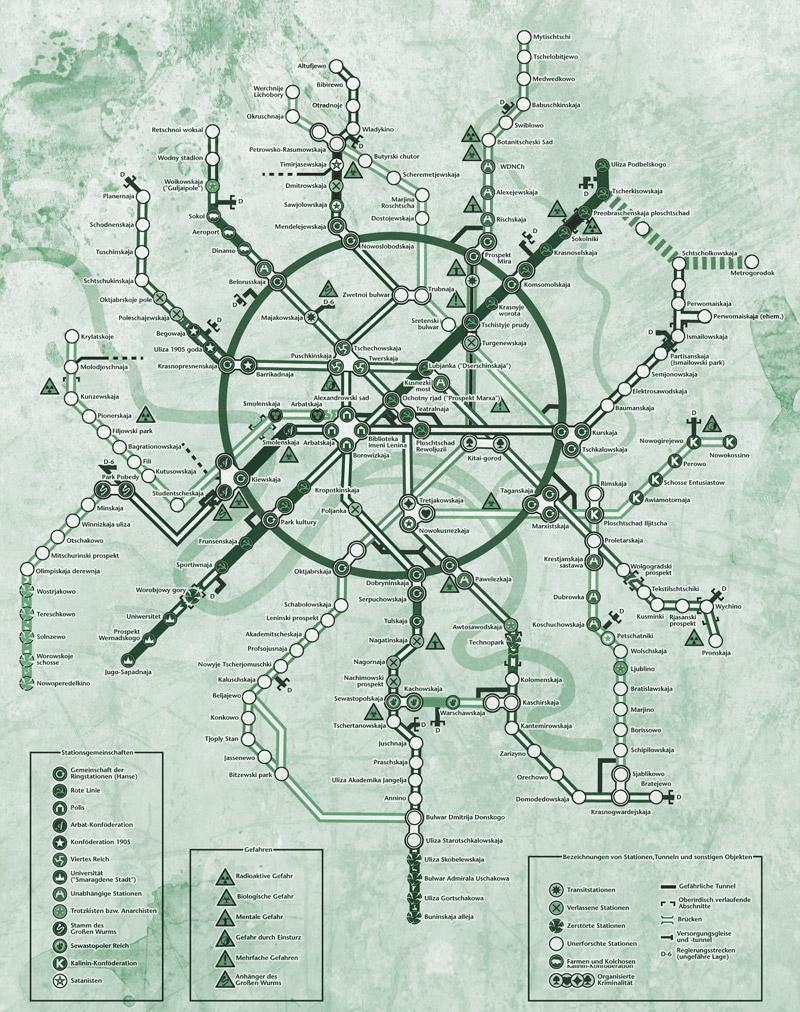 Im Tunnel Metro 2033 Universum Roman Amazon De Antonow Sergej