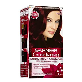Garnier Color Intense 26 Flammendes Braunrot 3er Pack