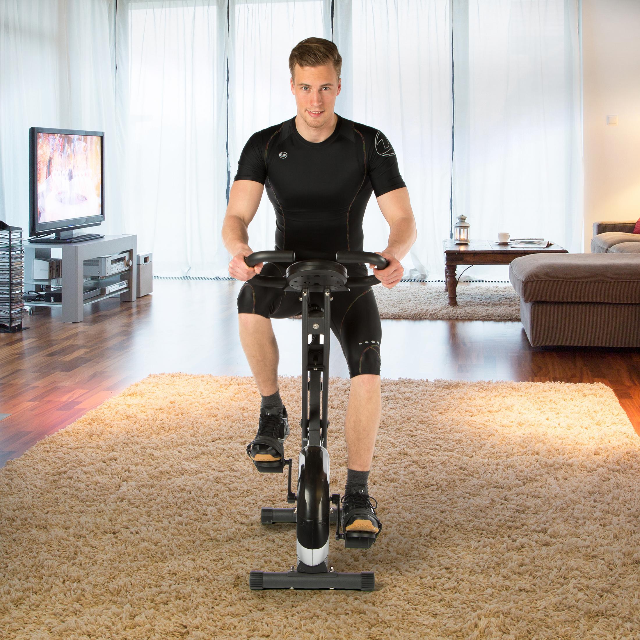Ultrasport Heimtrainer F-Bike, Fahrradsattel richtig einstellen