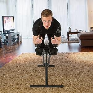 Ultrasport Bauchtrainer Ultra 150 Power AB Trainer