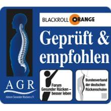 Blackroll Orange empfohlen vom Forum gesunder Rücken - besser leben e.V.