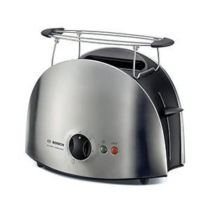 bosch tat6901 kompakt toaster private collection edelstahl schwarz. Black Bedroom Furniture Sets. Home Design Ideas