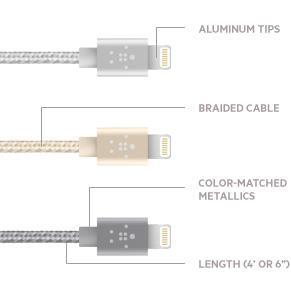 MIXIT Metallic Lightning-/USB-Kabel