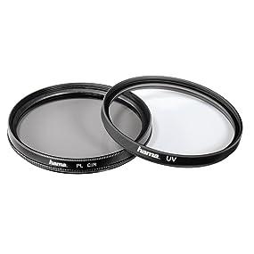 Hama 2er Set Uv Und Polarisations Filter 2 Fach Kamera