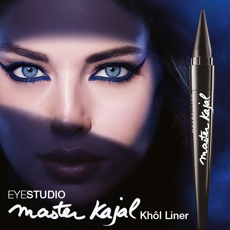 maybelline master kajal kh l liner in pitch black cremiger eyeliner in schwarz f r. Black Bedroom Furniture Sets. Home Design Ideas