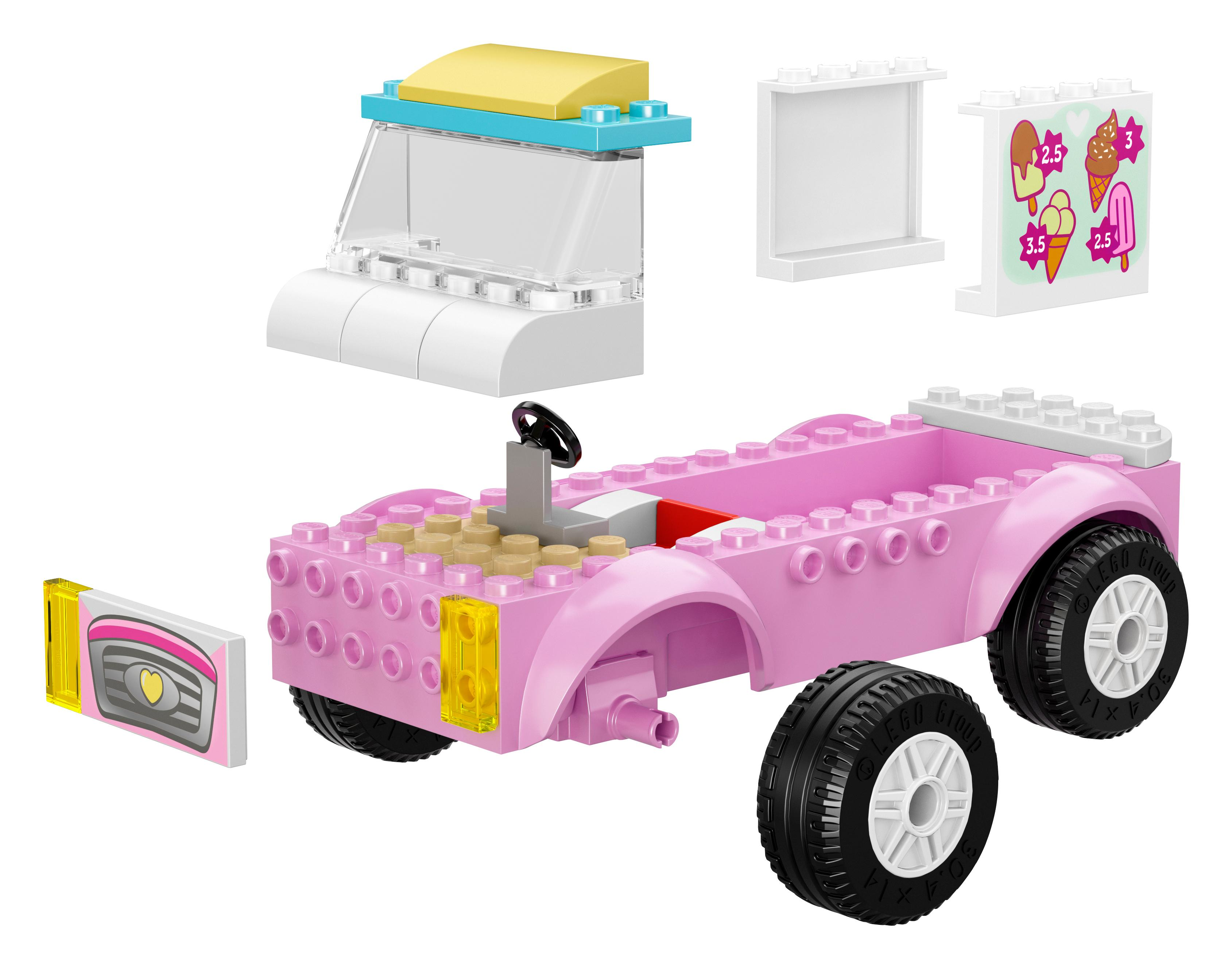 lego juniors 10727 emmas eiswagen spielzeug f r vier j hrige spielzeug. Black Bedroom Furniture Sets. Home Design Ideas