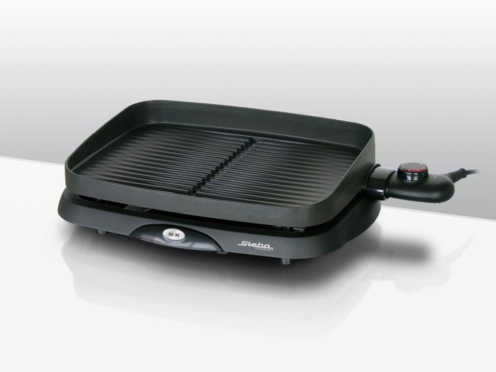 steba vg 90 compact barbecue tischgrill schwarz garten. Black Bedroom Furniture Sets. Home Design Ideas