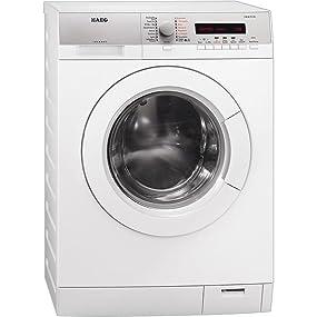 aeg l76485hfl waschmaschine frontlader a 1400 upm 8 kg silber elektro. Black Bedroom Furniture Sets. Home Design Ideas