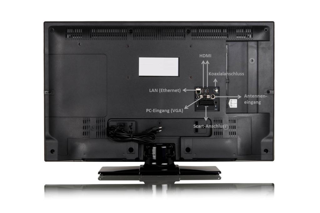 dual le32f127a3c 81 cm 32 zoll fernseher full hd triple tuner smart tv. Black Bedroom Furniture Sets. Home Design Ideas